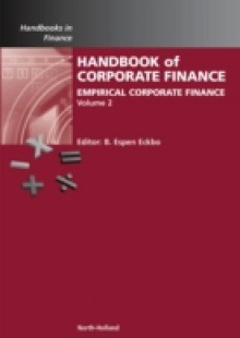 Обложка книги  - Handbook of Empirical Corporate Finance