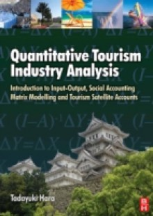Обложка книги  - Quantitative Tourism Industry Analysis