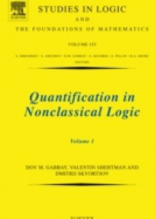 Обложка книги  - Quantification in Nonclassical Logic