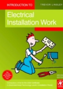 Обложка книги  - Introduction to Electrical Installation Work