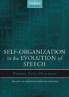 Обложка книги  - Self-Organization in the Evolution of Speech