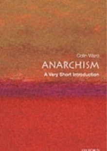 Обложка книги  - Anarchism: A Very Short Introduction