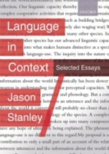 Обложка книги  - Language in Context: Selected Essays