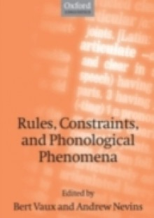Обложка книги  - Rules, Constraints, and Phonological Phenomena