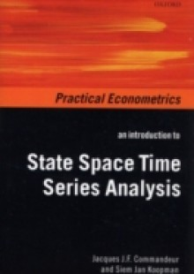Обложка книги  - Introduction to State Space Time Series Analysis