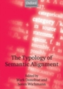 Обложка книги  - Typology of Semantic Alignment