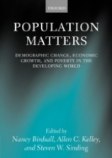 Обложка книги  - Population Matters: Demographic Change, Economic Growth, and Poverty in the Developing World