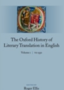 Обложка книги  - Oxford History of Literary Translation in English: Volume 1: To 1550