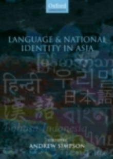 Обложка книги  - Language and National Identity in Asia
