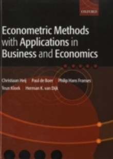 Обложка книги  - Econometric Methods with Applications in Business and Economics