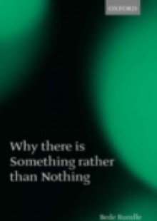 Обложка книги  - Why there is Something rather than Nothing