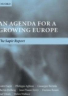 Обложка книги  - Agenda for a Growing Europe: The Sapir Report