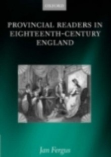 Обложка книги  - Provincial Readers in Eighteenth-Century England