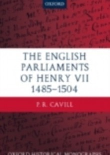 Обложка книги  - English Parliaments of Henry VII 1485-1504