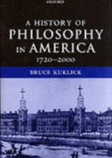 Обложка книги  - History of Philosophy in America: 1720-2000