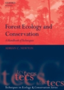 Обложка книги  - Forest Ecology and Conservation: A Handbook of Techniques