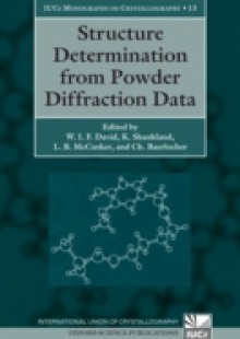 Обложка книги  - Structure Determination from Powder Diffraction Data