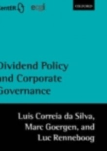 Обложка книги  - Dividend Policy and Corporate Governance