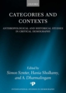 Обложка книги  - Categories and Contexts: Anthropological and Historical Studies in Critical Demography