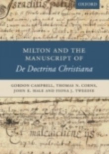 Обложка книги  - Milton and the Manuscript of De Doctrina Christiana