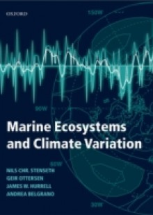Обложка книги  - Marine Ecosystems and Climate Variation