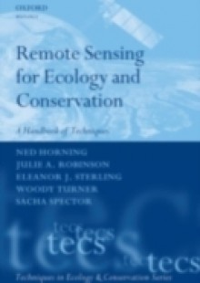 Обложка книги  - Remote Sensing for Ecology and Conservation: A Handbook of Techniques