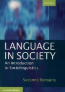 Обложка книги  - Language in Society: An Introduction to Sociolinguistics