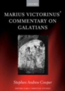 Обложка книги  - Marius Victorinus' Commentary on Galatians