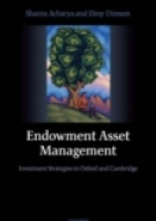 Обложка книги  - Endowment Asset Management: Investment Strategies in Oxford and Cambridge
