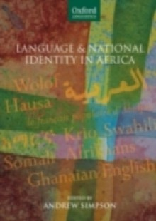 Обложка книги  - Language and National Identity in Africa