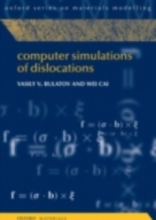 Обложка книги  - Computer Simulations of Dislocations