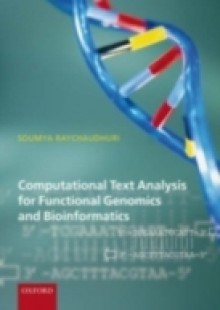 Обложка книги  - Computational Text Analysis: for functional genomics and bioinformatics