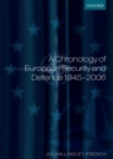 Обложка книги  - Chronology of European Security and Defence 1945-2007