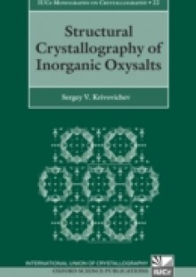 Обложка книги  - Structural Crystallography of Inorganic Oxysalts