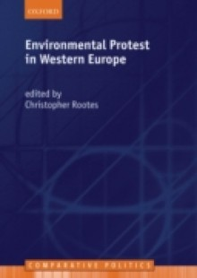 Обложка книги  - Environmental Protest in Western Europe
