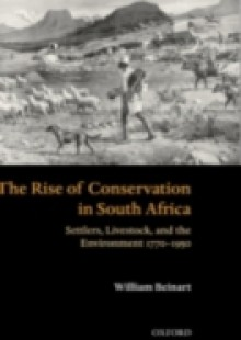 Обложка книги  - Rise of Conservation in South Africa