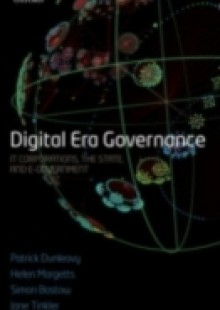 Обложка книги  - Digital Era Governance: IT Corporations, the State, and e-Government