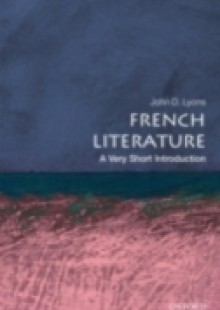 Обложка книги  - French Literature: A Very Short Introduction