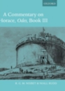 Обложка книги  - Commentary on Horace: Odes Book III
