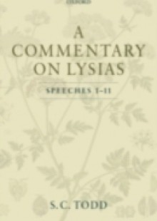 Обложка книги  - Commentary on Lysias, Speeches 1-11