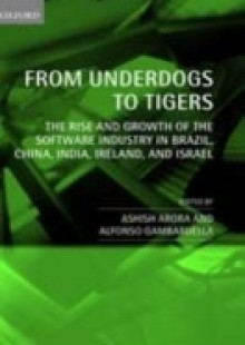 Обложка книги  - From Underdogs to Tigers: The Rise and Growth of the Software Industry in Brazil, China, India, Ireland, and Israel