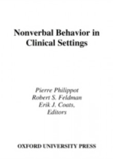 Обложка книги  - Nonverbal Behavior in Clinical Settings