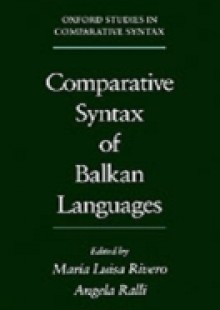 Обложка книги  - Comparative Syntax of the Balkan Languages