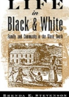 Обложка книги  - Life in Black and White: Family and Community in the Slave South