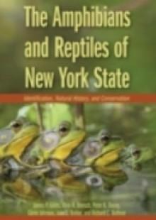 Обложка книги  - Amphibians and Reptiles of New York State: Identification, Natural History, and Conservation
