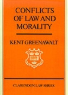 Обложка книги  - Conflicts of Law and Morality