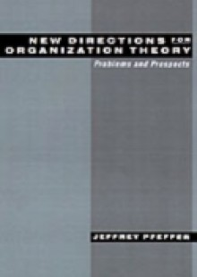 Обложка книги  - New Directions for Organization Theory: Problems and Prospects