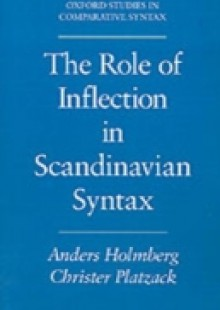 Обложка книги  - Role of Inflection in Scandinavian Syntax