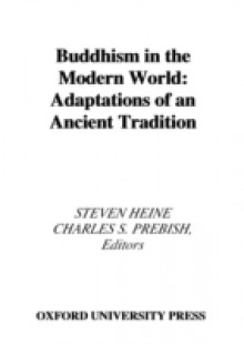 Обложка книги  - Buddhism in the Modern World: Adaptations of an Ancient Tradition