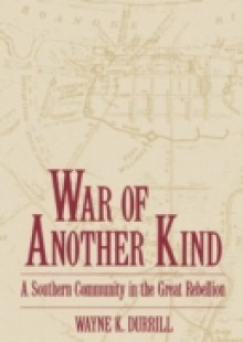 Обложка книги  - War of Another Kind: A Southern Community in the Great Rebellion